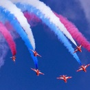 Top 5 Places to See the Red Arrows
