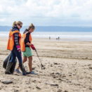 Love your Beach Clean at Maenporth Beach