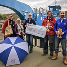 King Harry Ferry donates £4,550 to help Local Charity