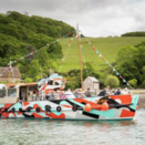 Dazzle Ferry Launched by Fal River Cornwall