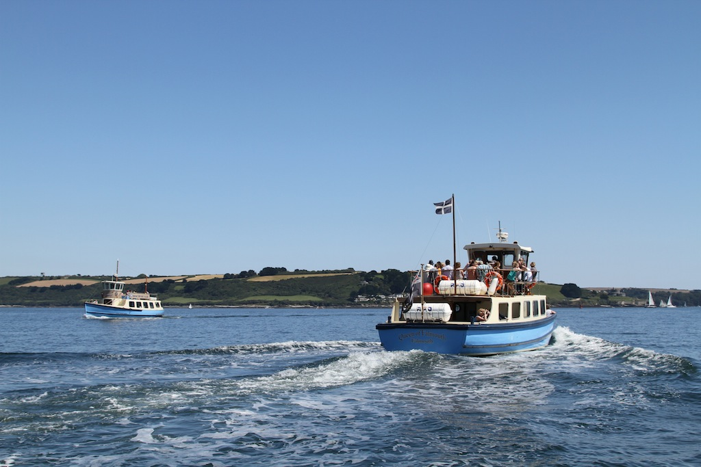St Mawes Ferry Queen of Falmouth
